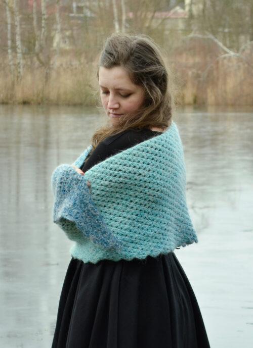 tomis wave shawl pattern 1