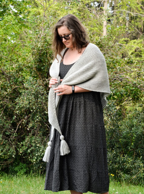 tunisian simple shawl 7