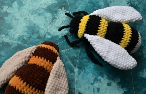mumble bee bumblebee pattern 2