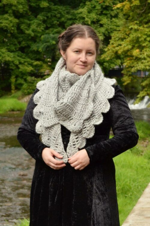Dove wings shawl 3