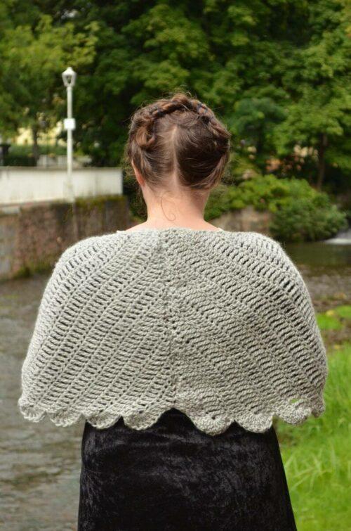 Dove wings shawl 4
