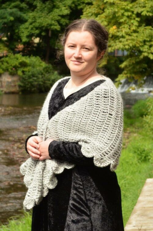 Dove wings shawl 5